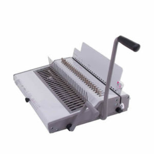 Renz Heavy Duty Manual Comb Binding Machine Side On View