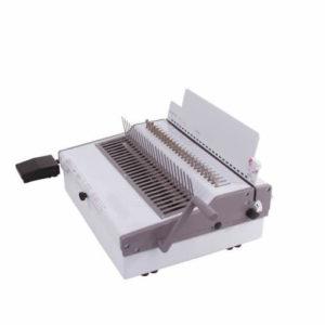 Renz Medium Duty Electric Comb Binding Machine Side On View