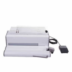 Renz SPB 360 Electric Comfort Plus Spiral Binding Machine Front View
